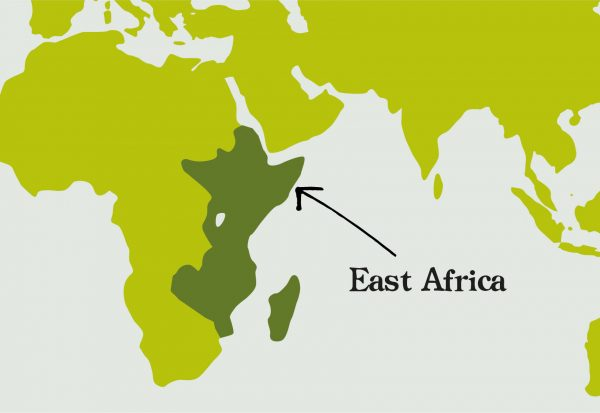 Unique blends East Africa