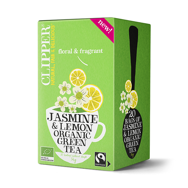 Organic Jasmine & Lemon Green Tea